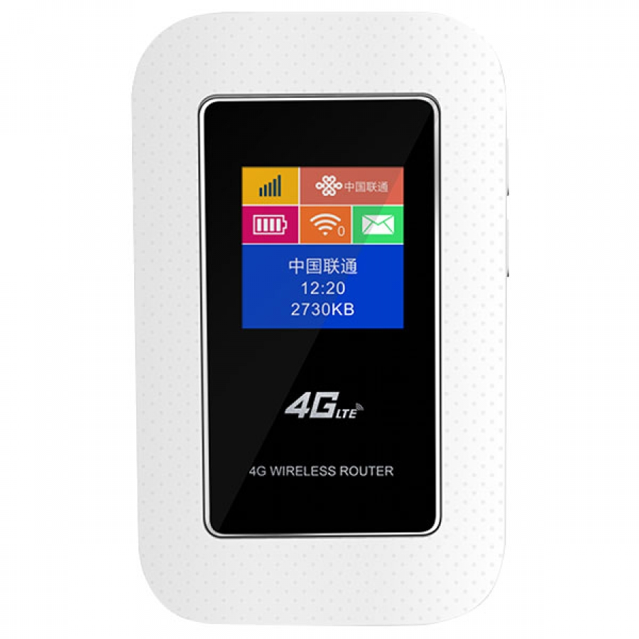 4g Router Wifi Lte Mifi Modem Manufacturer Fdd B1 B2 B3 B4 With Sim Card Slot And Battery V4g555m