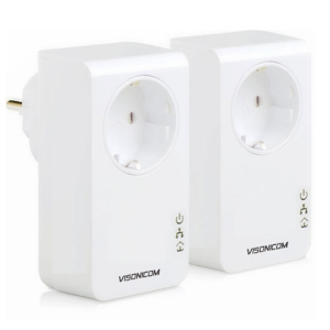 200Mbps AC Pass-through Powerline Network Adapter VPA201P