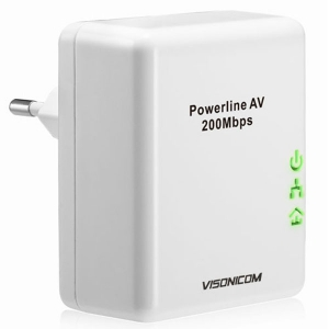 200Mbps Wall-mount Powerline Network Adapter VPA201M